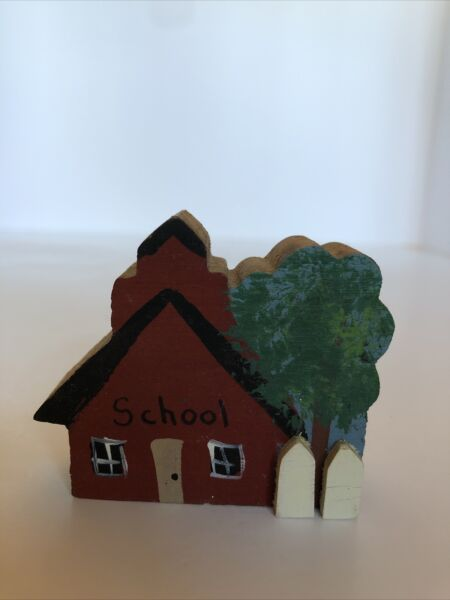 """small wooden school house 2"""""""