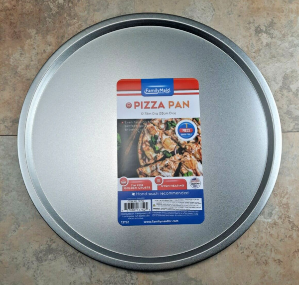 Pizza Baking Pan 12.75quot; Even Heat for Golden Crust Oven Cook Tray FREE SHIPPING $11.99