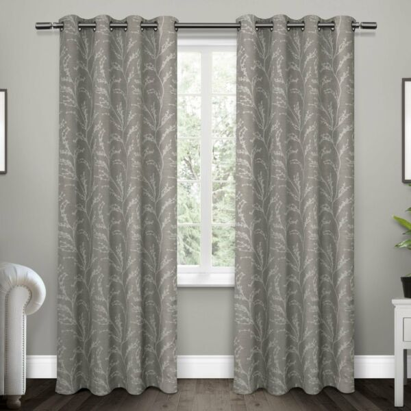 ATI Home Kilberry Woven Blackout Grommet Top Curtain Panel $56.57