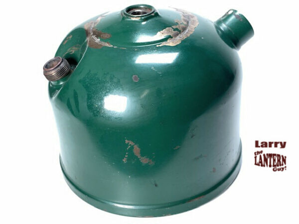 Coleman Lantern 242C Stamped Painted Fount 11 45 Vintage Camping Pitting $32.00