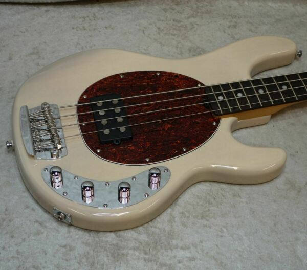 Sterling by Music Man StingRay RAY34 Ray 34 bass in buttermilk PROTOTYPE
