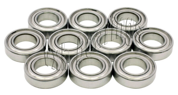 10 SR144ZZ ABEC 5 1 8quot;x 1 4quot;x 7 64quot; SR144Z Stainless inch Steel Ball Bearings