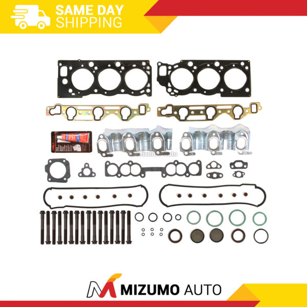MLS Head Gasket Bolts Set Fit 88-95 Toyota 4Runner T100 3.0 SOHC 3VZE