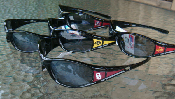 NCAA Sunglasses ( Wrap 2nd Edition ) Black Frame Official licensed
