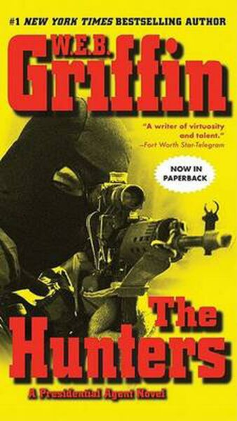 The Hunters by W.E.B. Griffin (English) Mass Market Paperback Book Free Shipping