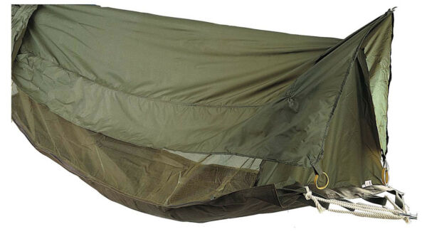 Jungle Hammock Insect Mesh Netting Coated Roof Olive Drab One Person Rothco 2361 $70.99