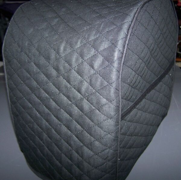 Black (or color choice) Quilted Fabric Keurig Platinum Brewer Cover NEW