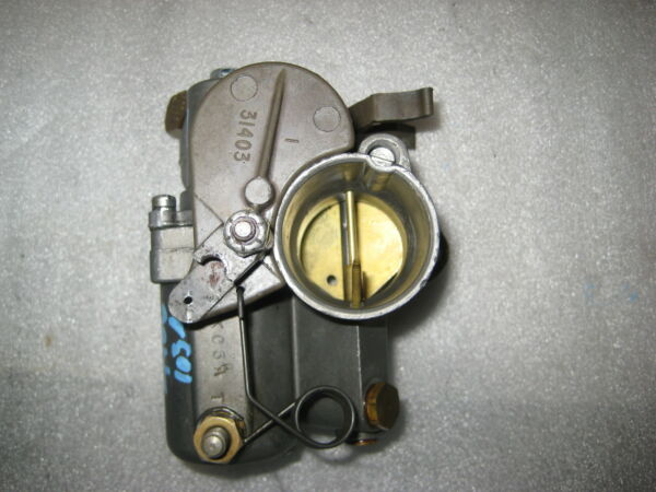 1335 2474 Carburetor Mercury 65hp 2 Cylinder Outboard Model 650 Serial 1891154 $74.97