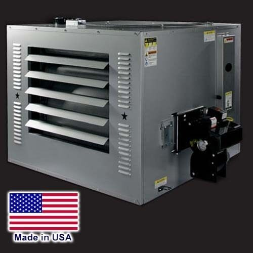 WASTE OIL HEATER - 250000 BTU - 80 Gal Tank & Exhaust Kit - 120V - 3975 CFM
