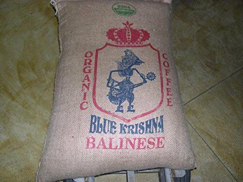 Up to 15 Pounds Bali Blue Moon Organic RFA Fresh Coffee Beans Whole or Ground