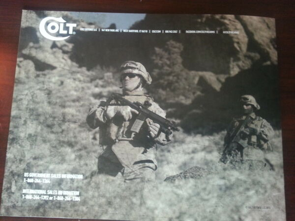 Colt Military Collectible Catalog Booklet 2013 New 24 Pages