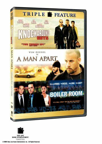 A Man ApartBoiler RoomKnockaround Guys (Triple Feature Fullscreen DVD) **NEW**