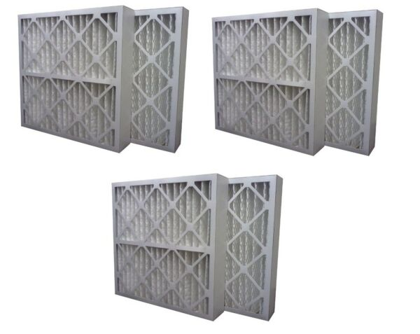 3 Pack High Quality Genuine MERV 13 Pleated Furnace Filters - 16x25x4