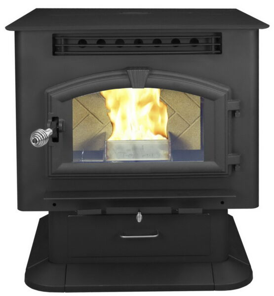 New Wood Pellet Heating Stove Multifuel Heater American Harvest