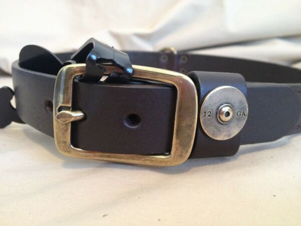 Genuine Leather Dog Collar Size 22 inch  TH $15.00