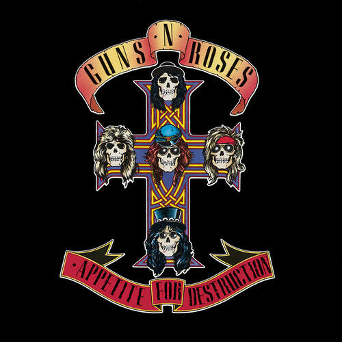 Guns N#x27; Roses Appetite for Destruction New Vinyl LP 180 Gram Reissue
