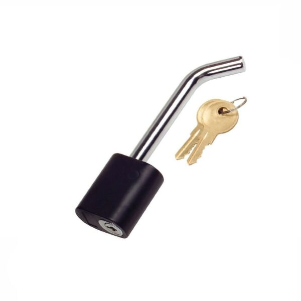 Trailer Lock 1 2quot; Hitch Pin with Lock For Bike Rack Trailer Locking RV Truck $16.99
