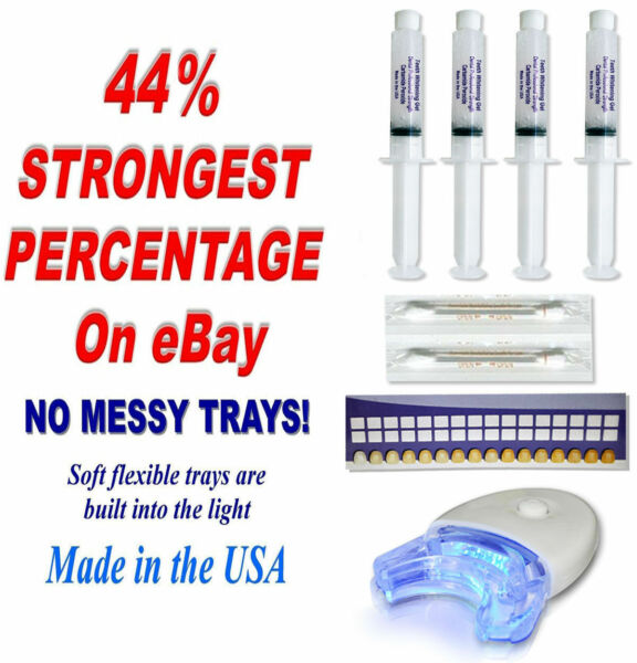44% DENTAL PROFESSIONAL STRENGTH CARBAMIDE GEL TOOTH TEETH WHITENER $9.99