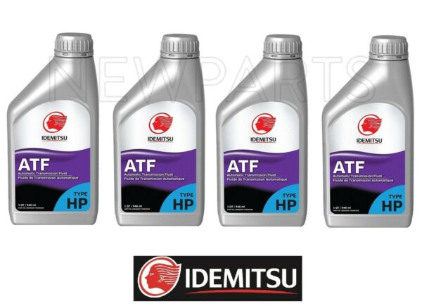 4 Quarts Pack Automatic Transmission Oil Fluids TYPE-HP ATF TYPEHP for Subaru