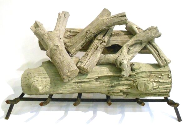 FIREPLACE LOG SET DRIFTWOOD 7 PIECE 24
