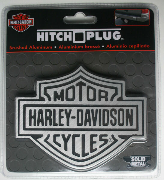 Harley Davidson Motor Cycle HD plug cover hider insert receiver Hitch Bike logo $29.99