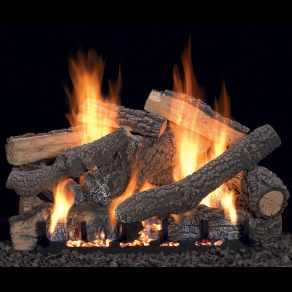 Ponderosa Vent-Free Gas Log Set Optional REMOTE 18
