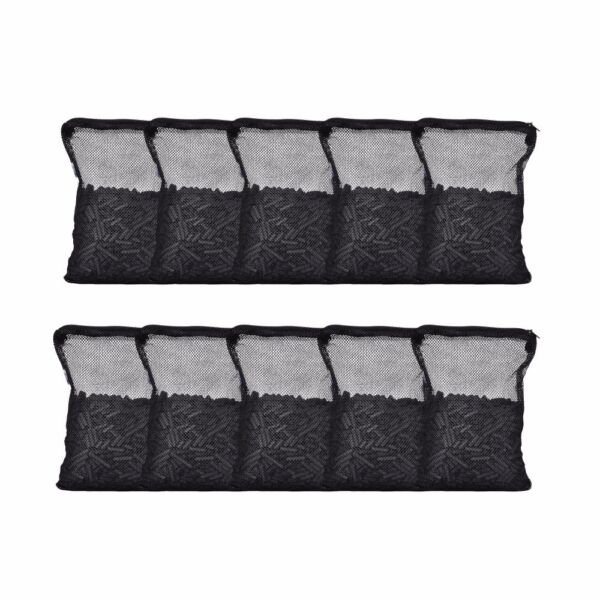 10 lbs Activated Carbon in 10 Media Bags for Aquarium Fish Pond Canister Filter $24.85