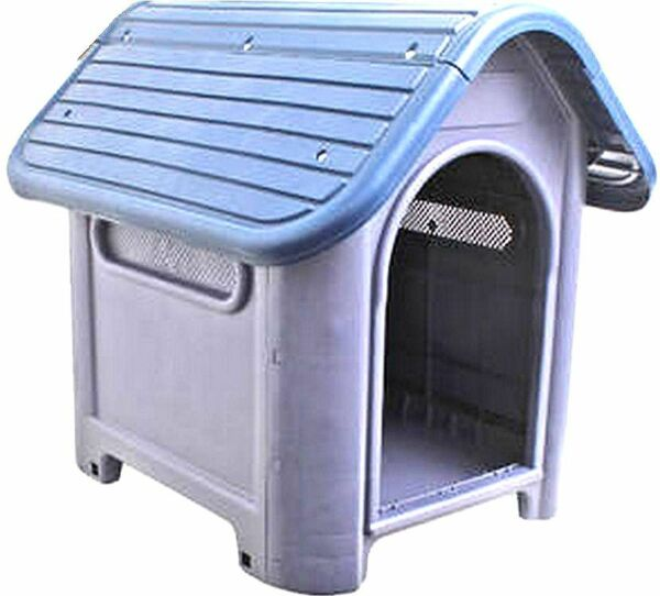New Outdoor Dog House Small to Medium Pet All Weather Doghouse Puppy Shelter NIB $59.99