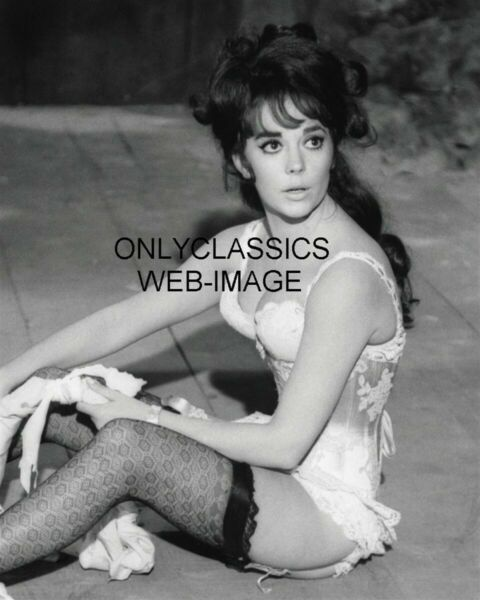 SEXY GORGEOUS YOUNG NATALIE WOOD IN BUSTIER LINGERIE 8X10 PHOTO PINUP CHEESECAKE $13.56
