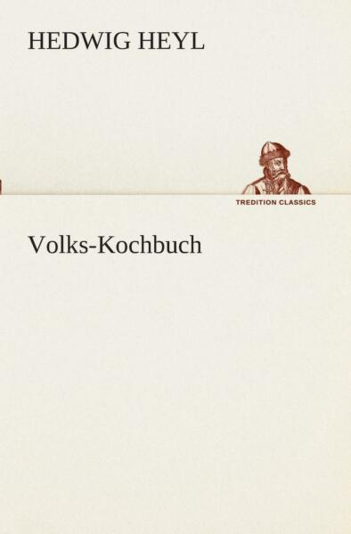 Volks Kochbuch by Hedwig Heyl German Paperback Book Free Shipping
