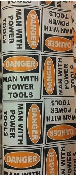 DANGER MAN WITH POWER TOOLS GIFT WRAP ROLL WRAPPING PAPER 100 SQ FEET  DADS DAY