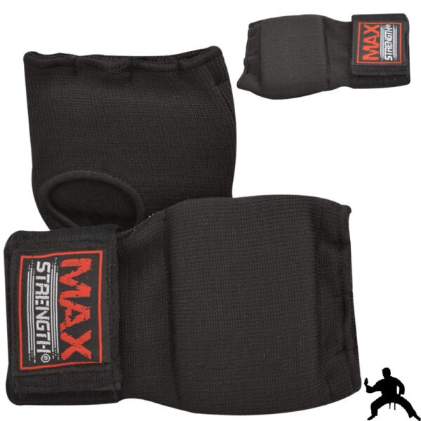 Boxing Inner Hand Wraps MMA Muay Thai Fist Padded Bandages Gel Strap kick Mitts