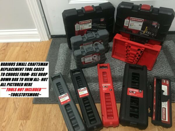 CRAFTSMAN SMALL TOOL CASE SOCKET TORX HEX IMPACT CHOICE *TOOLS NOT INCLUDED* $8.78