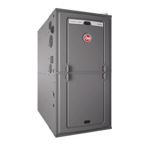 Rheem 96% AFUE 112000 BTU Two-Stage Variable Speed Multi-Position Gas Furnace