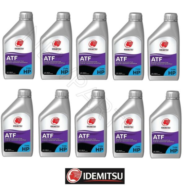 10 Quart Pack Automatic Transmission oil Fluid Set ATF TYPEHP for Subaru TYPE-HP