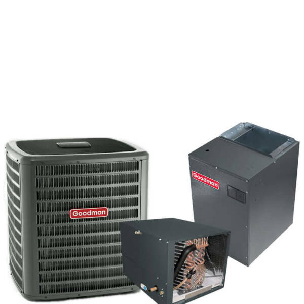4 Ton 18 SEER R-410A Two-Stage Variable Speed Horizontal Heat Pump Split System