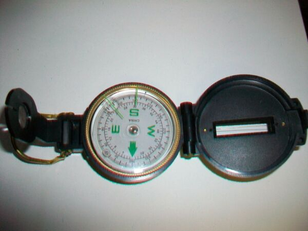 Engineer Directional Compass Plastic with Brass Metal