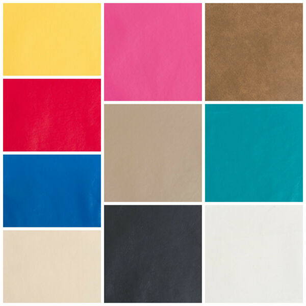 Discount Fabric Faux Leather Upholstery Pleather Vinyl Choose Your Color