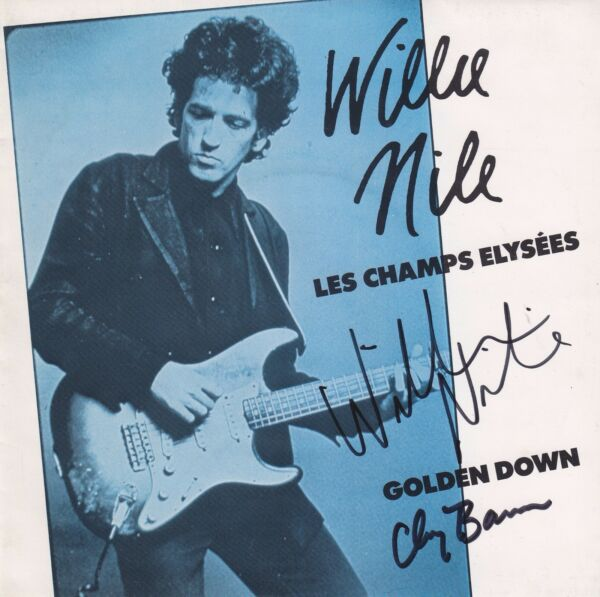 Willie Nile super rare Golden Down signed 45 sleeve only 1 of 2 I have ever see