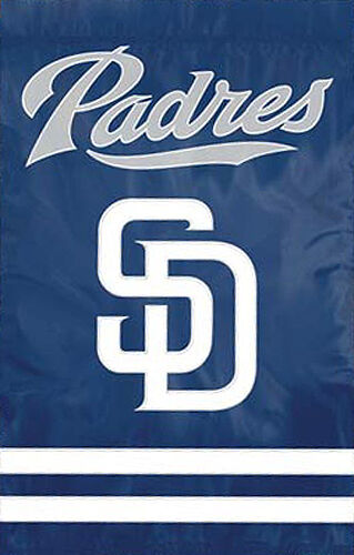 SAN DIEGO PADRES Official MLB Team Dynamic Applique Premium WALL BANNER