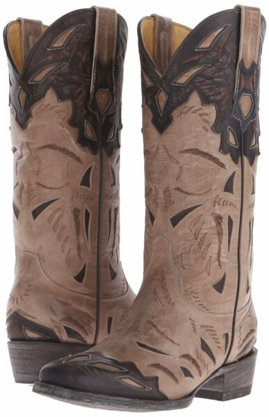 New Yippee Kay Yay by Old Gringo Women's Mainz Western Boot Vesuvio Bone Size 7