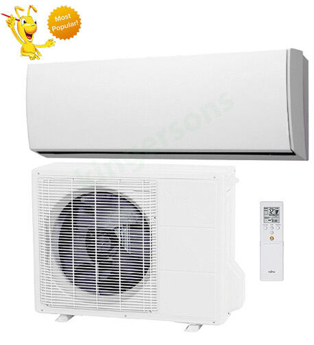 30000 BTU Fujitsu SEER 17.5 Ductless Wall Mounted Heat Pump Air Conditioner $2588.73