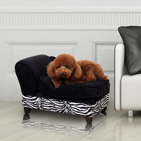 New Pet Sofa Cat and Dog Couch with Cushion and Storage Option GBP 38.99