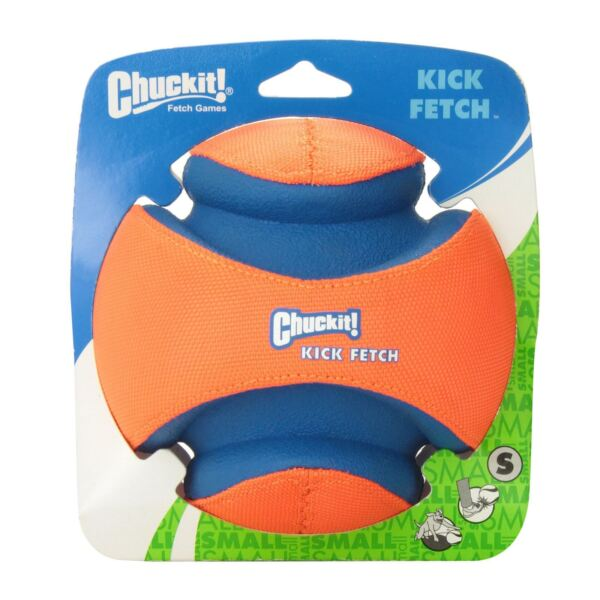 Chuckit Kick Fetch Ball Dog Toy Football Game Durable 15cm Exercise Training