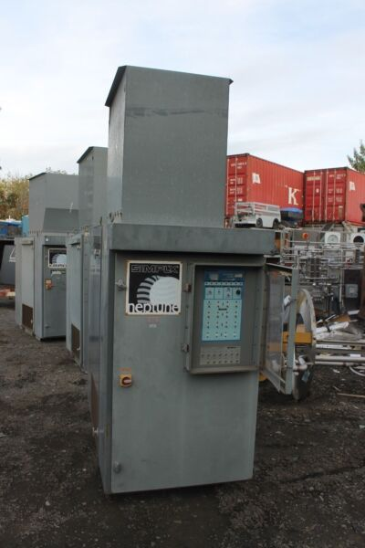 SIMPLEX LOAD BANK 120KW FORCED AIR COOLED RESISTIVE LOAD BANK 12500 CFM NEPTUNE