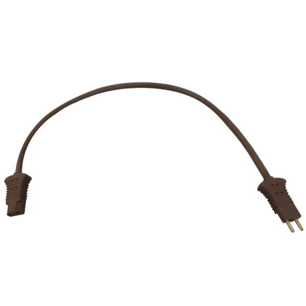 Pigtail Cord for Filter Queen Vacuum 18 Inch Brown