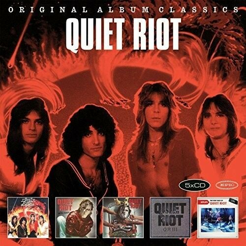 Quiet Riot - Original Album Classics [CD New]
