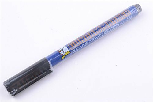 Mr. Hobby Gundam Marker Liner Type, Black - GM01