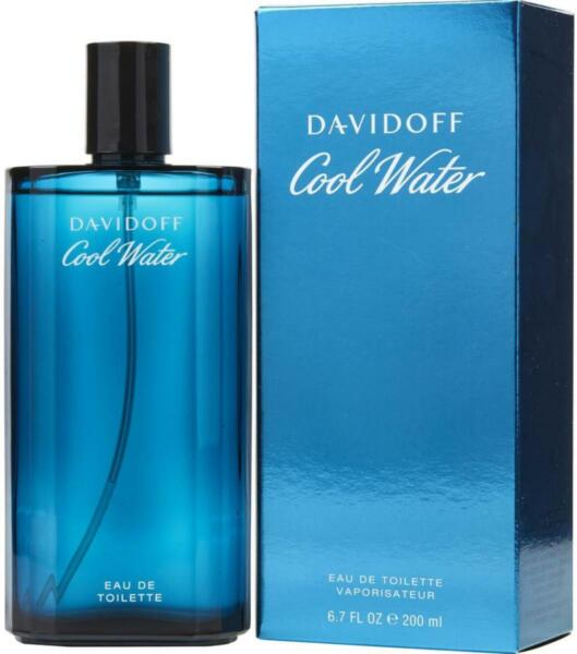 Cool Water by Davidoff Cologne for Men 6.7 oz 6.8 edt New in Box $24.65