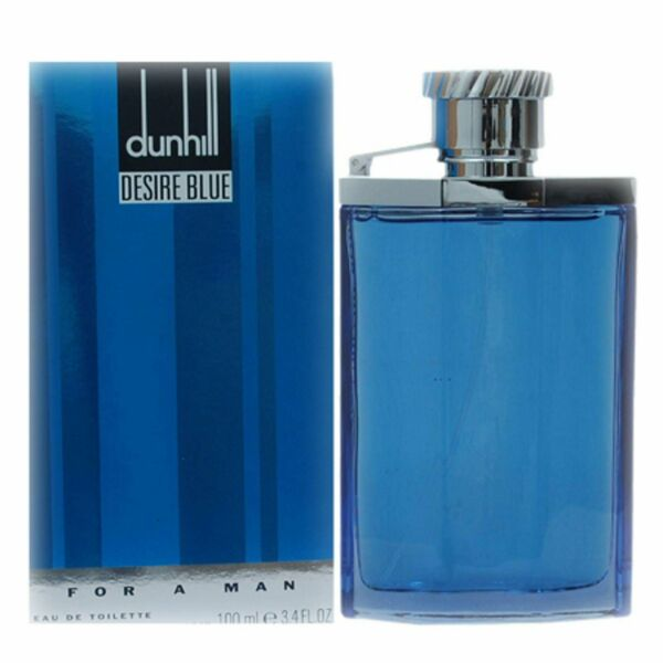 DESIRE BLUE by Dunhill Cologne 3.3 3.4 oz EDT For Men New in Box $24.34